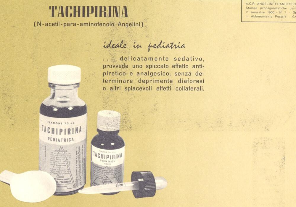 Διαφήμιση της Tachipirina