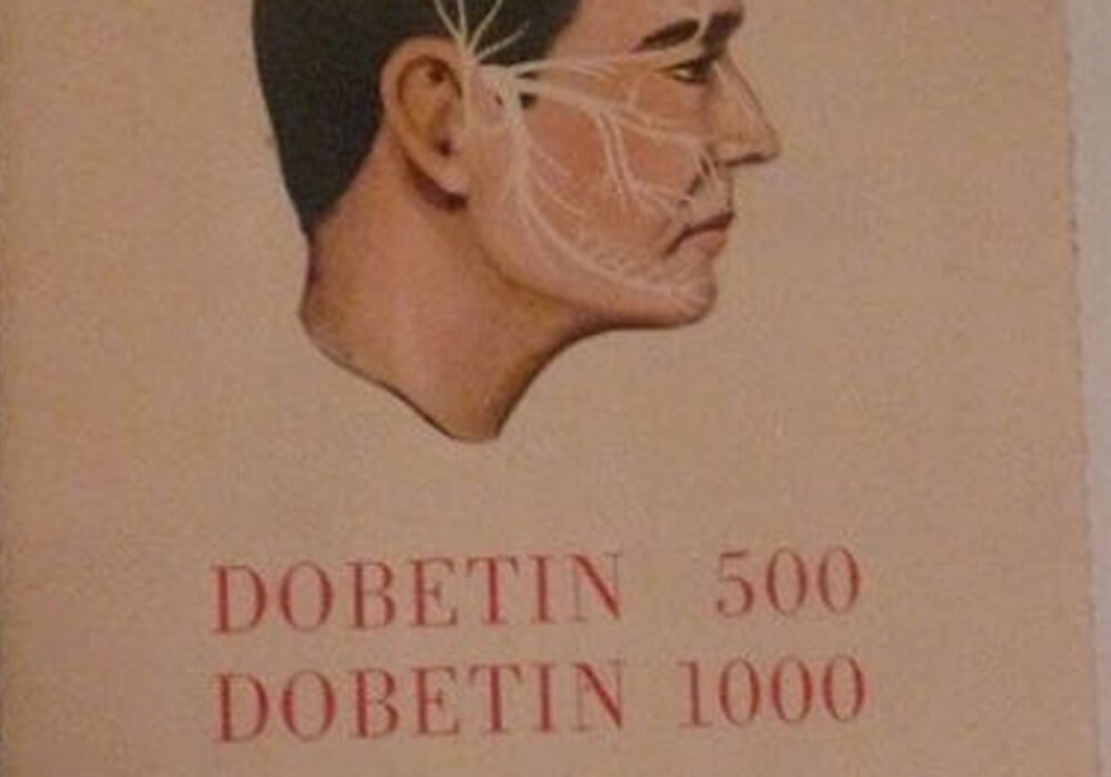 A primeira publicidade do Dobetin