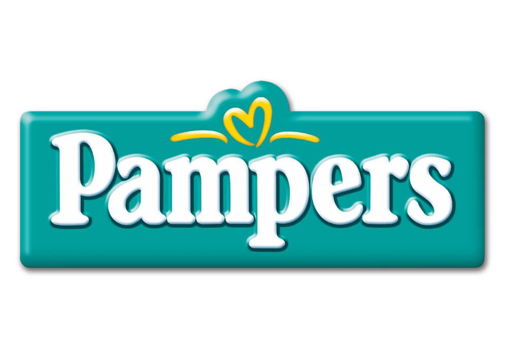 Logotipo de pañales Pampers