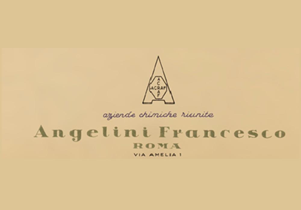 Primeiro logótipo da Angelini