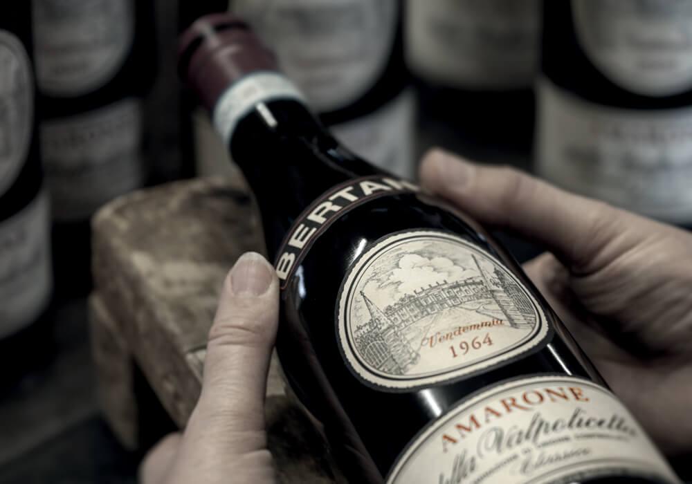 Etykietowanie wina Amarone