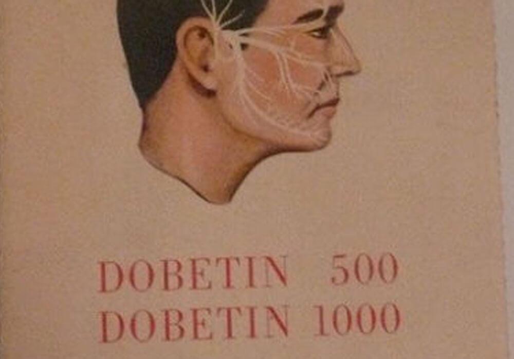 Pierwsza reklama leku Dobetin
